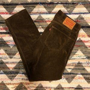 Levi's Brown Corduroy Pants 32x32